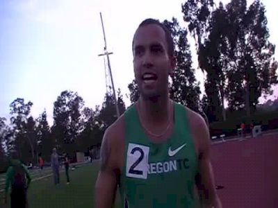 Tyler Mulder big PB 1:44.83 2nd 800- 2011 USATF High Performance Meet