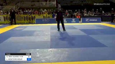 NATHALIE WAN SOARES RIBEIRO vs LUIZA MONTEIRO MOURA DA COSTA 2020 Pan Jiu-Jitsu IBJJF Championship
