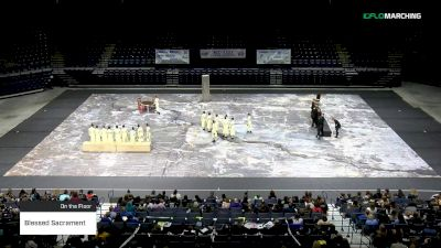 Blessed Sacrament at 2019 WGI Guard Mid East Power Regional - Cintas Center