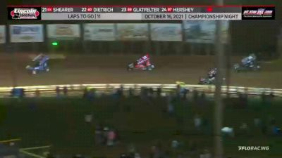 Feature Replay | 410 Sprints at Lincoln Speedway