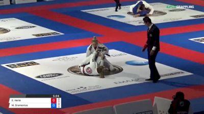 Erin Herle vs Martina Gramenius 2018 Abu Dhabi World Professional Jiu-Jitsu Championship