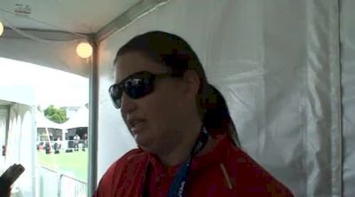 Stephanie Brown-Trafton 1st place W Discus at the USATF Outdoor Championships 2011