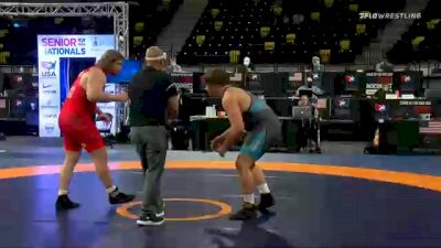 125 kg Consolation - Derek White, TMWC / Cowboy RTC vs Joshua Heindselman, Oklahoma Regional Training Center