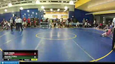 90 lbs Round 1 - Mason O`Dell, Mater Lakes vs Reid Yakes, Bebee Trained