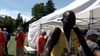 Charles Jock finishes 3rd and makes first US team at USATF Outdoor Championships 2011