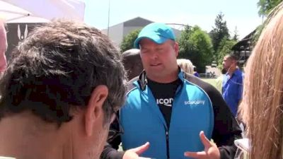Adam Nelson part 2 after US Shot Put title at USATF Outdoor Championships 2011