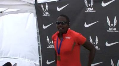 Sharon Day 1st W Hep at the USATF Outdoor Championships 2001