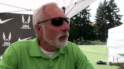 Vin Lananna talks about mid distance races at USATF Outdoor Championships 2011