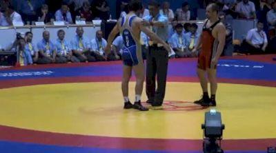 74 lbs finals Irbek Farniev vs. Geduev