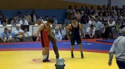 66 lbs finals Mavlet Batirov vs. Adam Batirov