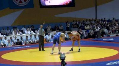120 lbs finals Ahkmedov vs. Kasaev