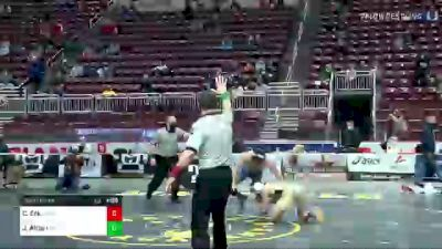 145 lbs Semifinal - Connor Eck, Bensalem vs John Altieri, Norwin