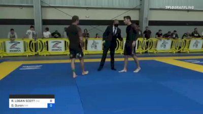 RANDY LOGAN SCOTT vs Daniel Duron 2021 Pan IBJJF Jiu-Jitsu No-Gi Championship
