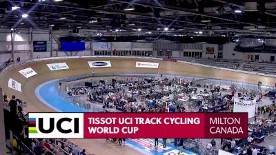 2020 UCI Track World Cup: Milton - Day 1