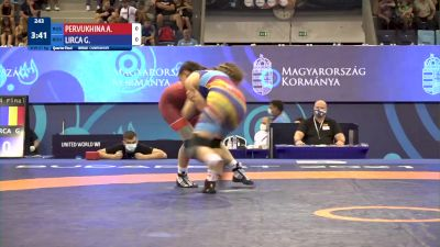 57 kg 1/4 Final - Angelina Pervukhina, Russia vs Georgiana Carla Lirca, Romania