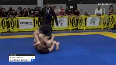 KRISTOPHER CODY REID vs CODY MITCHELL OWENS 2021 Pan IBJJF Jiu-Jitsu No-Gi Championship