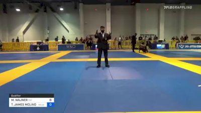 MATIAS WAJNER vs TIMOTHY JAMES MCLINDEN 2021 American National IBJJF Jiu-Jitsu Championship