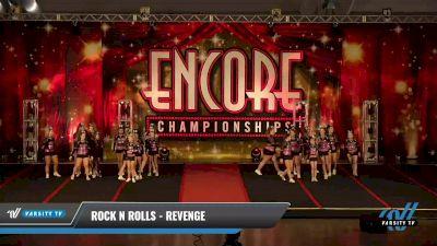 Rock N Rolls - Revenge [2021 L3 Junior - D2 - Medium Day 2] 2021 Encore Championships: Pittsburgh Area DI & DII
