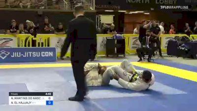 ALEX MARTINS DO NASCIMENTO vs ANISS EL HAJJAJY 2021 Pan Jiu-Jitsu IBJJF Championship