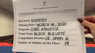 Core Athletix - Black Bullets [L6 Senior Open] 2021 Beast of The East Virtual Championship