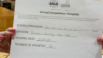 Hamilton High School Competition Squad [Varsity - Hip Hop] 2021 UDA West Spring Virtual Dance Challenge