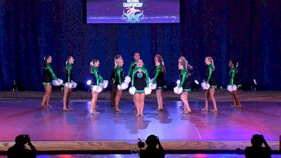 Greeneville High School Devilettes [2021 Medium Varsity Pom Finals] 2021 NDA High School National Championship