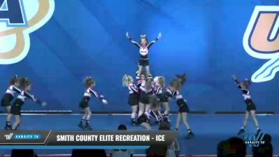 Smith County Elite Recreation - Ice [2020 L1 Performance Recreation - 8Y (NON) Day 1] 2020 UCA Smoky Mountain Championship