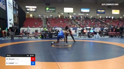 97 kg Rnd Of 32 - Michael Boykin, TMWC/ WOLFPACK WC vs Blaize Cabell, TMWC/ VALLEY RTC