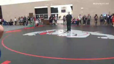 53 kg Round Of 32 - Alisha Howk, WI vs Autumn Gordon, OH