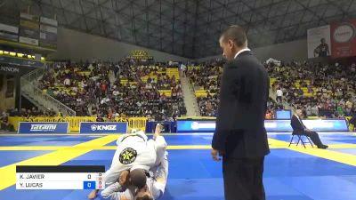 KEVIN JAVIER MAHECHA vs YAN LUCAS CORDEIRO PAIVA 2019 World Jiu-Jitsu IBJJF Championship