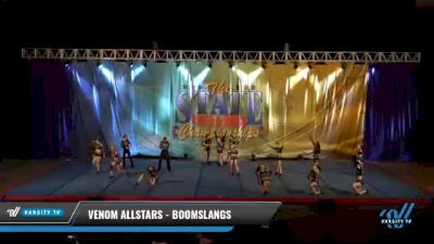 Venom Allstars - Boomslangs [2021 L4 International Open Coed Day 2] 2021 The STATE DI & DII Championships