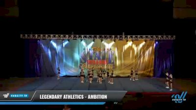 Legendary Athletics - Ambition [2021 L4 Senior Coed - D2 - Small Day 2] 2021 The STATE DI & DII Championships