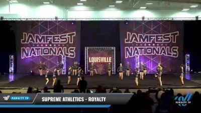 Supreme Athletics - Royalty [2021 L2 Junior - Small Day 1] 2021 JAMfest: Louisville Championship