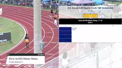 Youth Girls' 4x100m Relay, Finals 1 - Age under 18