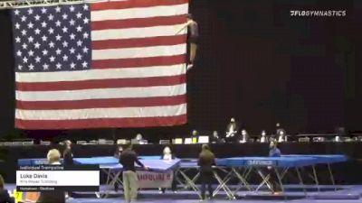 Luke Davis - Individual Trampoline, Kris Power Tumbling - 2021 USA Gymnastics Championships