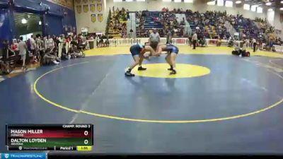 170 lbs Champ. Round 3 - Mason Miller, Manatee vs Dalton Loyden, Arizona