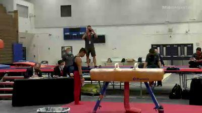 Yul Moldauer - Pommel Horse, 5280 Gymnastics - 2021 Men's Olympic Team Prep Camp