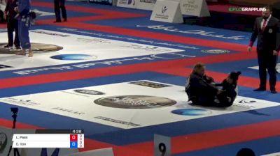 Larissa Paes vs Charlotte Von Baumgarten 2018 Abu Dhabi World Professional Jiu-Jitsu Championship