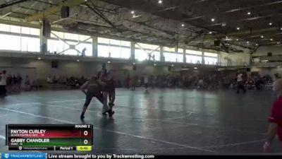 180 lbs Round 2 (4 Team) - Payton Curley, Black Mambas Red vs Gabby Chandler, Ohio