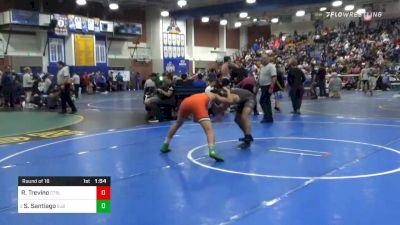 152 lbs Prelims - Ricardo Trevino, Central vs Sonny Santiago, St John Bosco