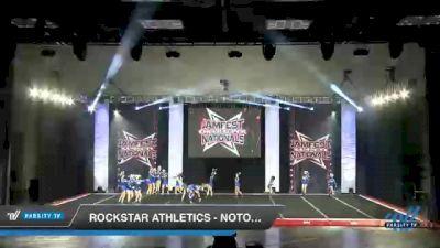 Rockstar Athletics - Notorious [2021 L2 Junior - D2 - Small - B Day 1] 2021 JAMfest Cheer Super Nationals