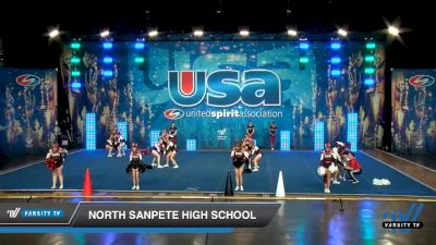 North Sanpete High School [2020 Co-Ed Varsity Show Cheer Intermediate Day 1] 2020 USA Spirit Nationals