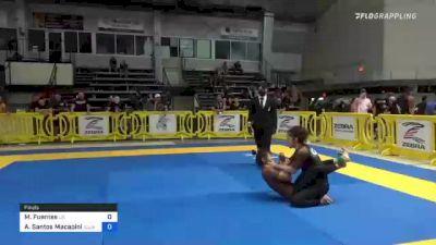 Marisol Fuentes vs Andrea Santos Macapinlac 2021 Pan IBJJF Jiu-Jitsu No-Gi Championship