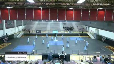 Friendswood HS Varsity at 2021 TCGC Color Guard Area Finale - South