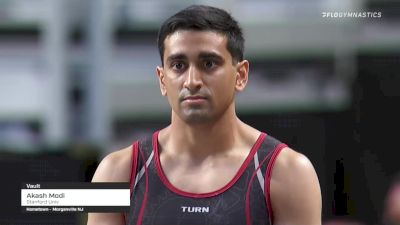 Akash Modi - Vault, Stanford Univ - 2021 US Championships Senior Competition International Broadcast