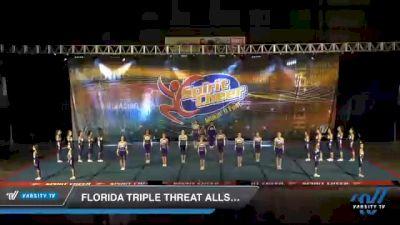 Florida Triple Threat Allstars - Sassy Coed [2021 L3 Junior - D2 - Medium Day 1] 2021 South Florida DI & DII Nationals
