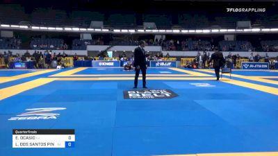YGOR DOS SANTOS RODRIGUES vs FREDERICO AUGUSTO ALVES SILVA 2019 World IBJJF Jiu-Jitsu No-Gi Championship