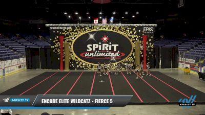 Encore Elite Wildcatz - Fierce 5 [2021 L5 Junior] 2021 PA Championship