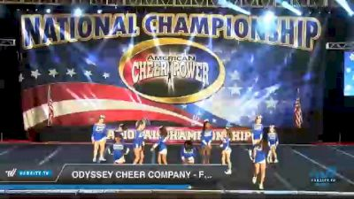 Odyssey Cheer Company - Frost [2021 L1 Youth - D2 Day 3] 2021 ACP Southern National Championship