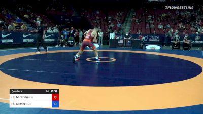 60 kg Quarters - Randon Miranda, Rise RTC vs Aidan Nutter, NMU-National Training Center